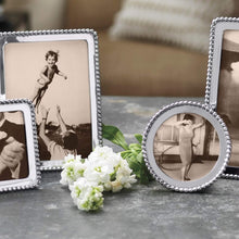 Load image into Gallery viewer, Beaded Round Frame-Photo Frames-|-Mariposa