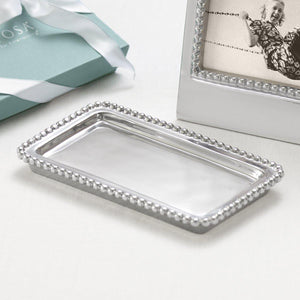 Beaded Statement Tray-Statement Trays-|-Mariposa