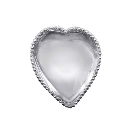 Beaded Heart Trinket Dish-Bowls | Mariposa