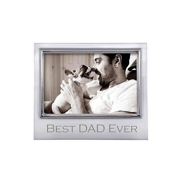 BEST DAD EVER 4x6 Signature Frame | Mariposa Photo Frames