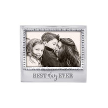 Load image into Gallery viewer, BEST DAY EVER Beaded 4x6 Frame | Mariposa Photo Frames