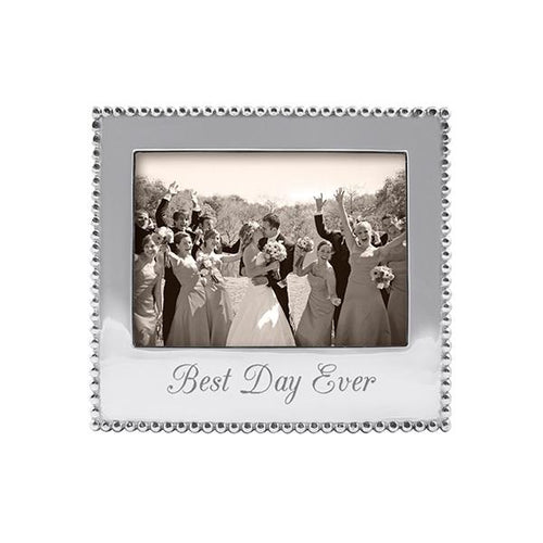 BEST DAY EVER Beaded 5x7 Frame | Mariposa Photo Frames