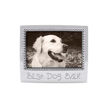 Load image into Gallery viewer, BEST DOG EVER Beaded 4x6 Frame | Mariposa Photo Frames