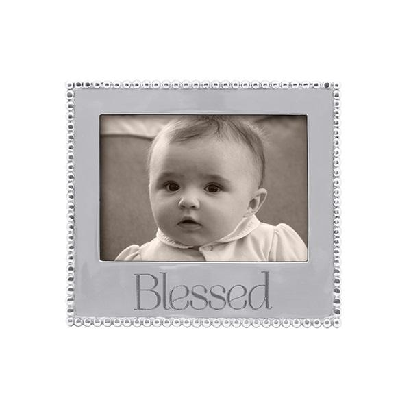 BLESSED Beaded 5x7 Frame | Mariposa Photo Frames