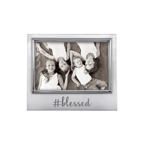 #BLESSED 4x6 Signature Frame | Mariposa Photo Frames