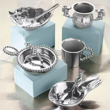 Load image into Gallery viewer, Bunny Porringer & Spoon Set-Baby-|-Mariposa