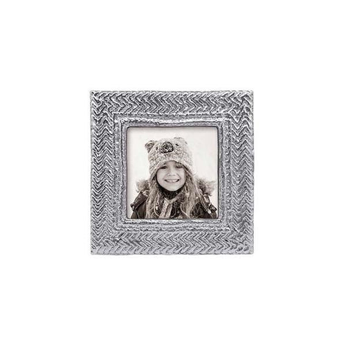 Cable Knit 4x4 Frame | Mariposa Photo Frames