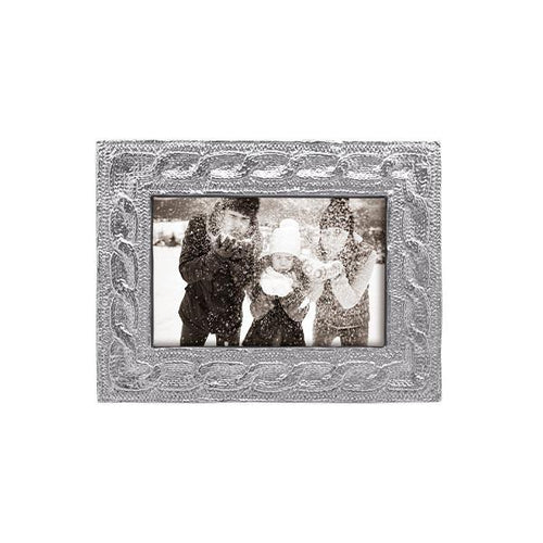Cable Knit 4x6 Frame | Mariposa Photo Frames
