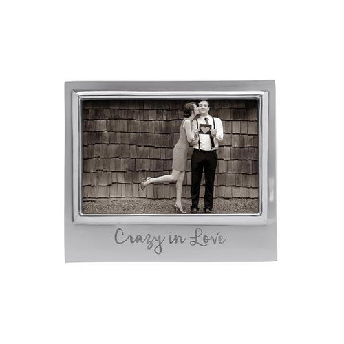 CRAZY IN LOVE 4x6 Signature Frame | Mariposa Photo Frames