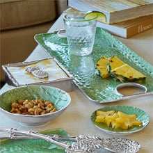 Load image into Gallery viewer, Croc Green Wine Plate-Barware-|-Mariposa