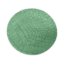 Load image into Gallery viewer, Croc Green Wine Plate | Mariposa Barware