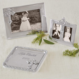 Cross 2x3 Double Frame-Photo Frames-|-Mariposa