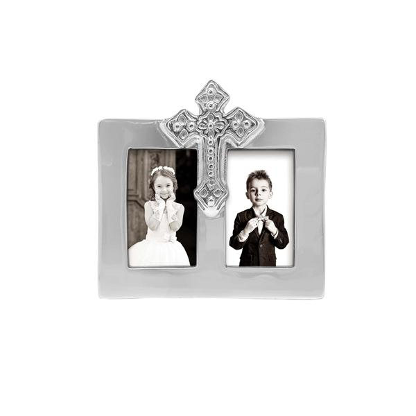 Cross 2x3 Double Frame | Mariposa Photo Frames