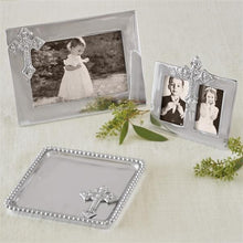 Load image into Gallery viewer, Cross Beaded Statement Tray-Baby-|-Mariposa