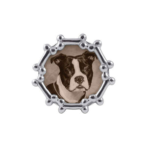 Dog Bone Round Frame | Mariposa Photo Frames