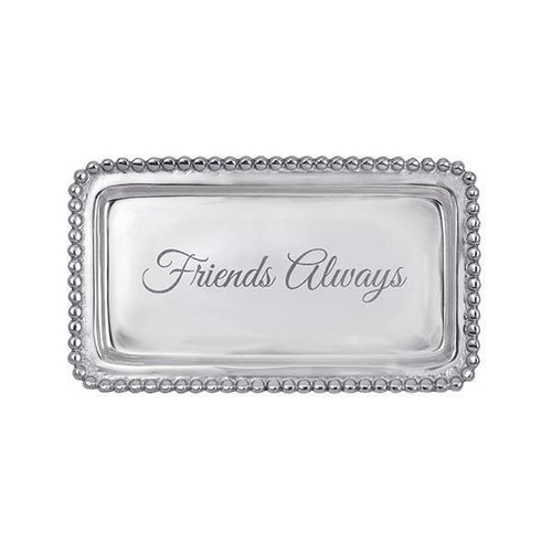 FRIENDS ALWAYS Beaded Statement Tray NEW | Mariposa Statement Trays