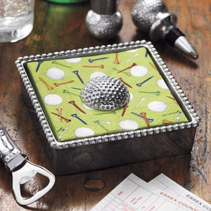 Golf Ball Napkin Weight-Napkin Boxes and Weights-|-Mariposa