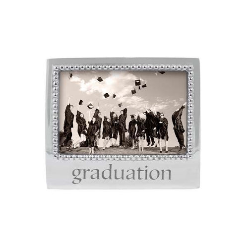GRADUATION Beaded 4x6 Frame | Mariposa Photo Frames