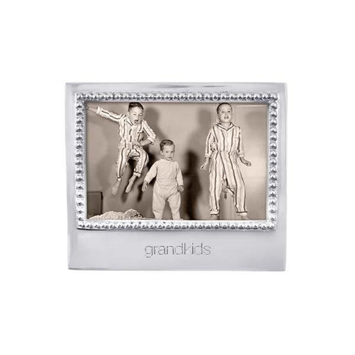 GRANDKIDS Beaded 4x6 Frame | Mariposa Photo Frames