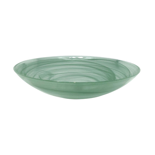 Green Alabaster Serving Bowl | Mariposa Bowls
