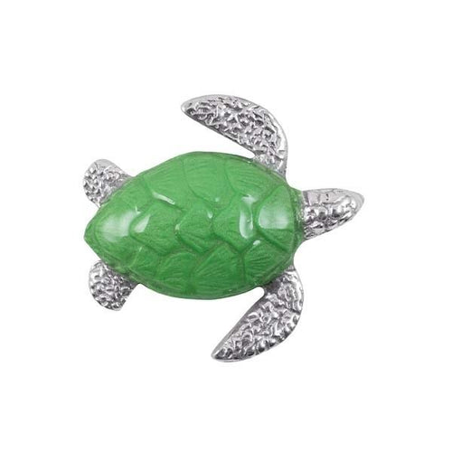 Green Sea Turtle Napkin Weight | Mariposa Napkin Boxes and Weights