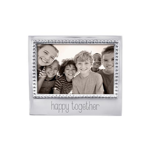 HAPPY TOGETHER Beaded 4x6 Frame | Mariposa Photo Frames