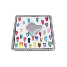 Load image into Gallery viewer, Heart Napkin Weight-Napkin Boxes and Weights-|-Mariposa