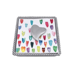 Heart Napkin Weight-Napkin Boxes and Weights-|-Mariposa