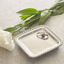 Load image into Gallery viewer, I DO Beaded Square Tray-Statement Trays-|-Mariposa