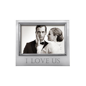 I LOVE US 4x6 Signature Frame | Mariposa Photo Frames
