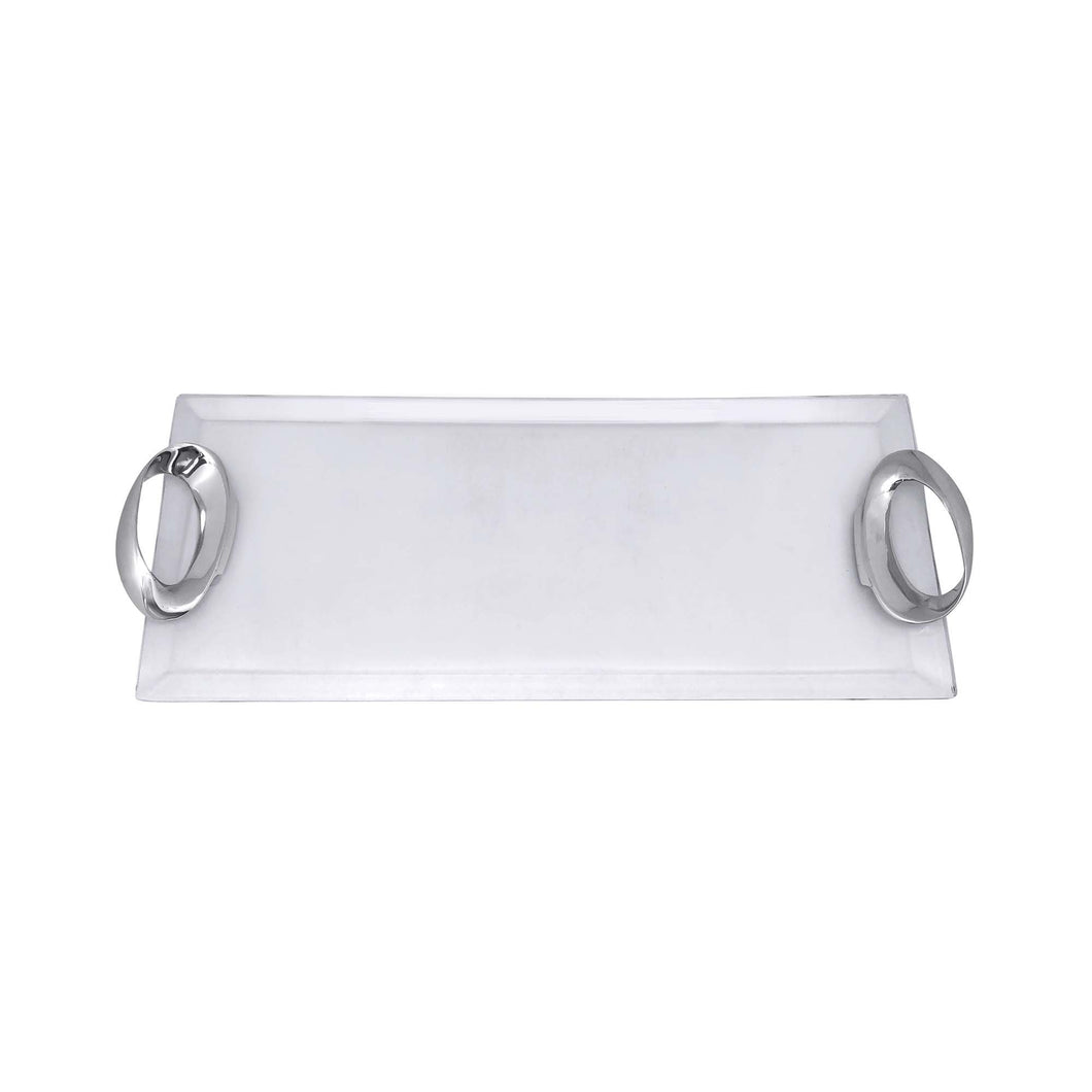 Infinity Handle Acrylic Tray | Mariposa Serving Trays and More