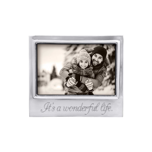 ITS A WONDERFUL LIFE Signature 4x6 Statement Frame-Statement Frame | Mariposa