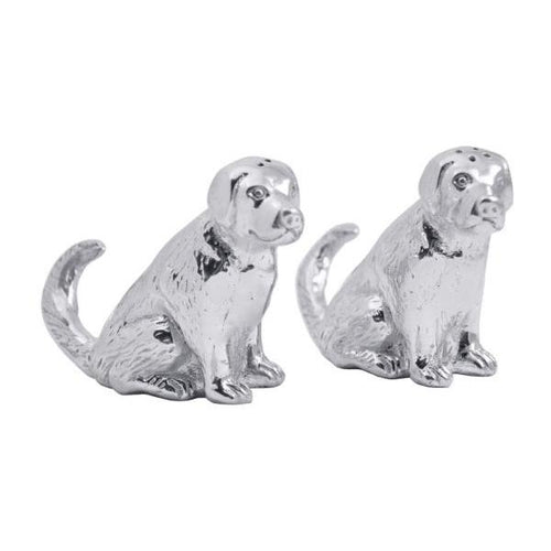 Labrador Salt & Pepper Set | Mariposa Table Accessories