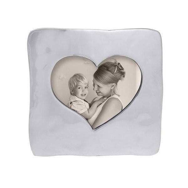 Large Square Open Heart Frame | Mariposa Photo Frames