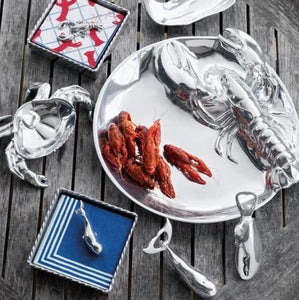 Lobster Rope Napkin Box-Napkin Boxes and Weights-|-Mariposa