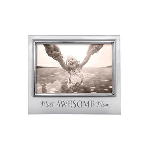 MOST AWESOME MOM 4x6 Signature Frame | Mariposa Photo Frames