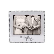 Load image into Gallery viewer, MR. & MRS. Beaded 5x7 Frame | Mariposa Photo Frames