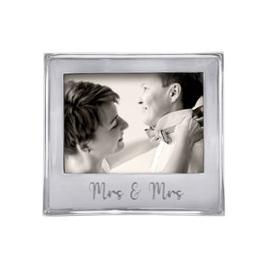 MRS. & MRS. Signature 5x7 Statement Frame-Statement Frame | Mariposa