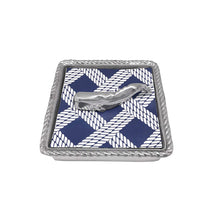 Load image into Gallery viewer, Nantucket Whale Napkin Weight-Napkin Boxes and Weights-|-Mariposa