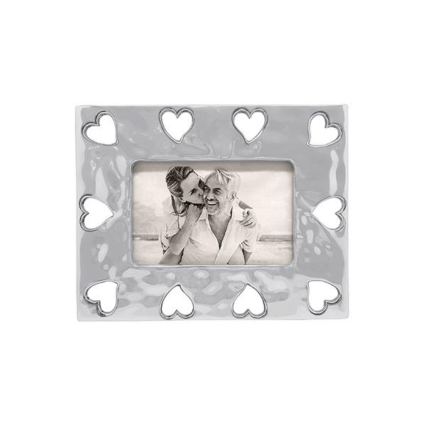 Open Heart Border 4x6 Frame | Mariposa Photo Frames