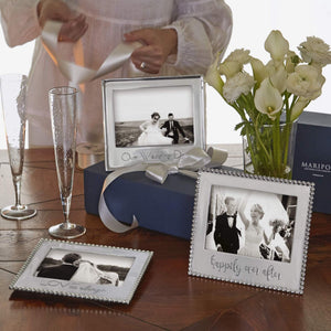 OUR WEDDING DAY Signature 5x7 Frame-Photo Frames-|-Mariposa