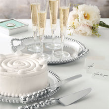 Load image into Gallery viewer, Pearled Cake Server Set-Table Accessories-|-Mariposa