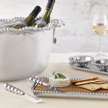 Load image into Gallery viewer, Pearled Cheese & Cracker Server-Serving Trays and More-|-Mariposa