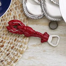 Load image into Gallery viewer, Red Lobster Bottle Opener-Barware-|-Mariposa
