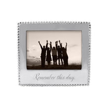 Load image into Gallery viewer, REMEMBER THIS DAY Beaded 5x7 Frame | Mariposa Photo Frames