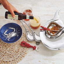 Load image into Gallery viewer, Rope Ceramic Oval Plate with Rope Spreader-Nut and Sauce Dishes-|-Mariposa