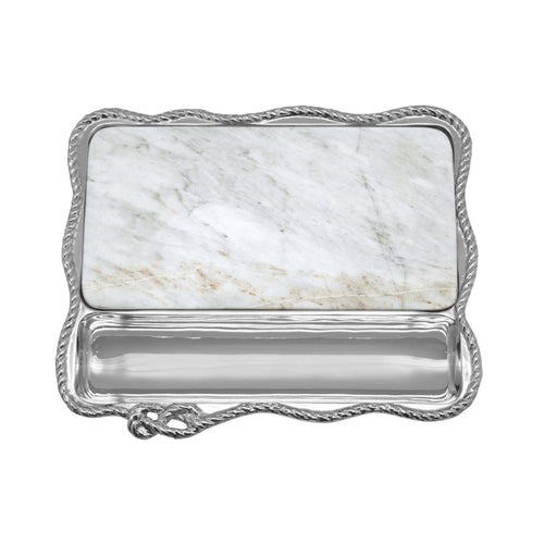 Rope Marble Cheese Board | Mariposa Serving Trays and More