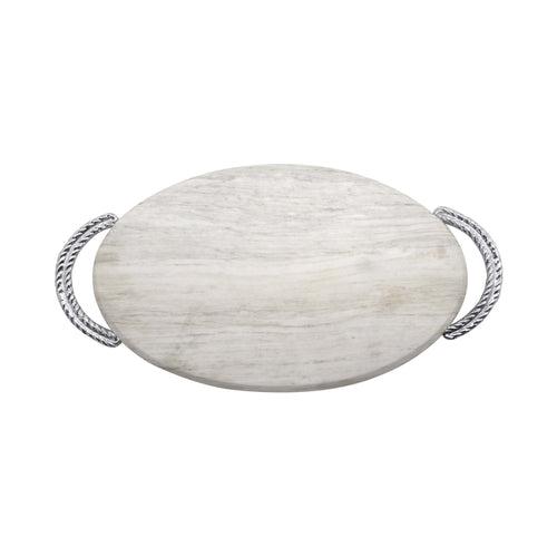 Rope Marble Serving Board | Mariposa Serving Trays and More
