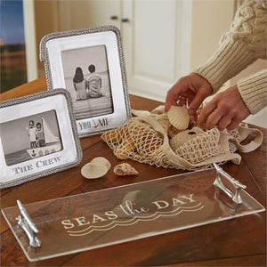 Rope Statement 4x6 Frame-Photo Frames-|-Mariposa