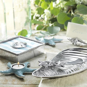 Sand Dollar Napkin Weight-Napkin Boxes and Weights-|-Mariposa